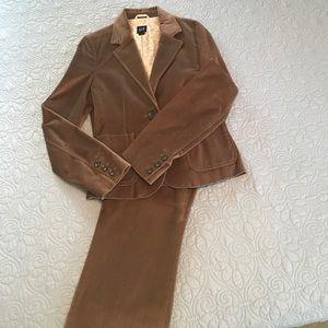Tan Velvet GAP Suit