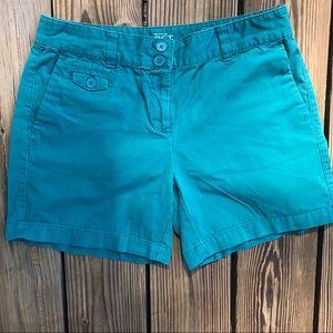Loft Ann Taylor Teal Original Shorts
