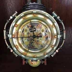 Other - Steampunk wall clock Col. Fizziwig collection