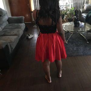 Two piece Rachael Allen homecoming dress
