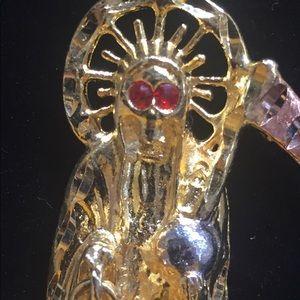 Santa Muerte Pendent Necklace
