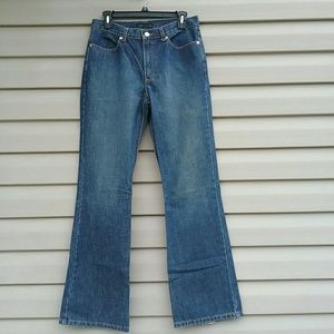J.Crew classic high waisted boot cut jeans