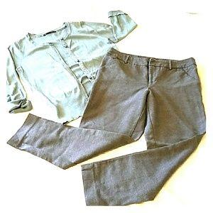 MERONA Womens Cropped Pants