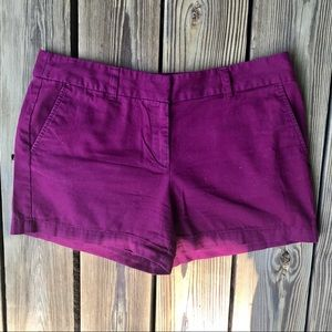 Loft Ann Taylor Maroon Shorts