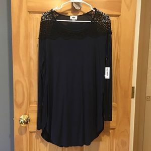 Women's Old Navy Lace Blouse Large
