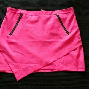 Hot pink skirt from Francesca's