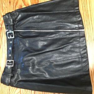F21 leather skirt medium!