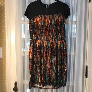 Multicolor JC Penney Dress