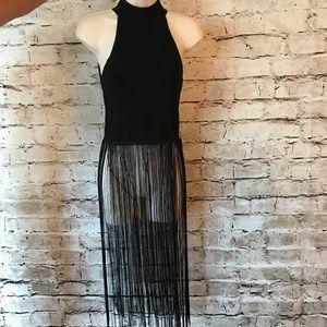Zara Knit Fringe Hauler