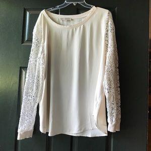 Loft lave sleeve blouse