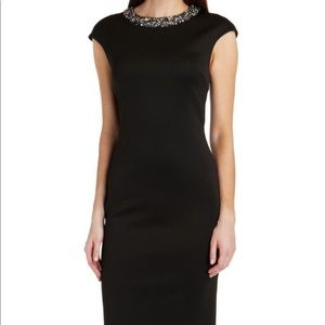 Ted Baker Embellished Midi dress size 1. Wore once