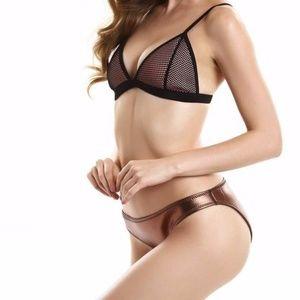 Other - Neoprene Bikini  mesh swimsuit  bathing suit