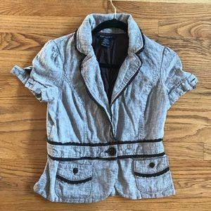 Short Sleeve Blazer, Size L