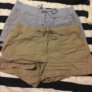 Set of two loft shorts