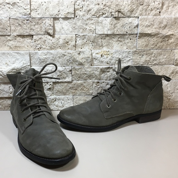 a71793a1aa147 SAM EDELMAN Mare Lace-Up Olive Desert Ankle Bootie.  M 59c27afc99086a193c00d550