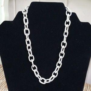 Designer Inspired Oval link Necklace