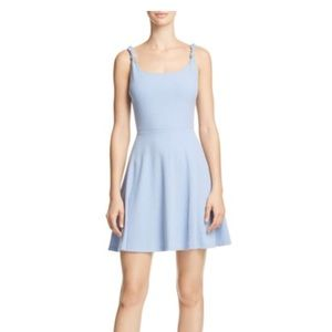 NWT AQUA knotted strap dress size L