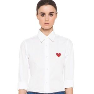 Nordstrom Play Comme des Garcons Red Heart Shirt