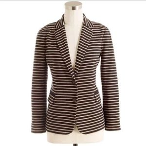 J. Crew maritime Blazer striped