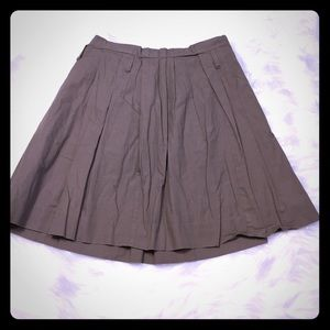 J. Crew pleated skirt size 0