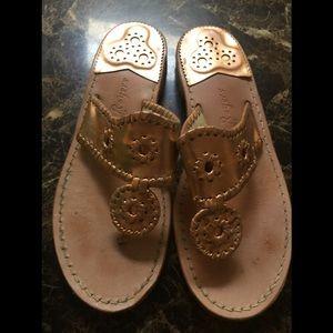 Jack Roger Copper Metallic Sandals