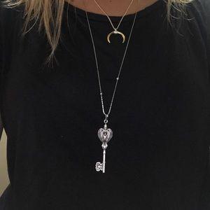 Alex and Ani Raven Key Necklace