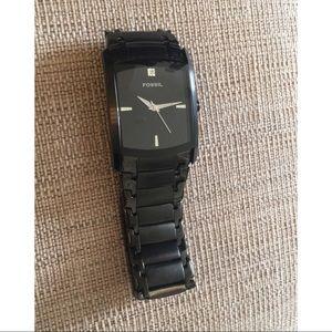 •Men's fossil watch•
