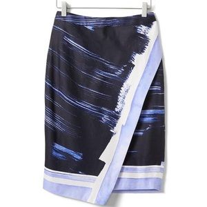 Banana Republic Navy Blue Pencil Skirt