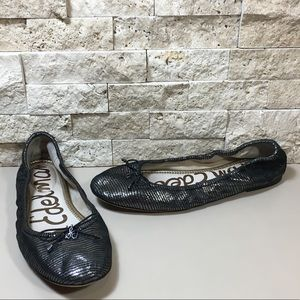 Sam Edelman Felicia Leather Ballet Flats Size 8