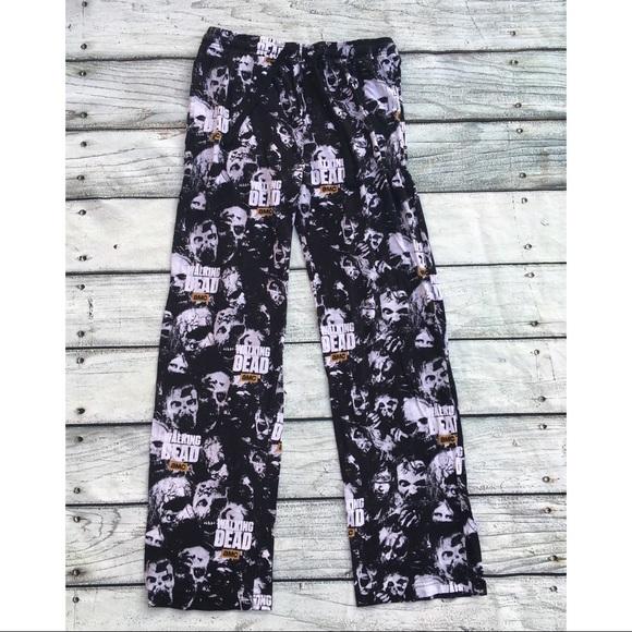 a6be2f30132 Men's Walking Dead flannel soft pajama pants M. M_59c285b5d14d7b8fa0010216