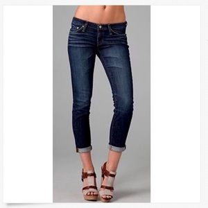 Adriano Goldschmied Low Rise Stilt Roll-Up Jeans!