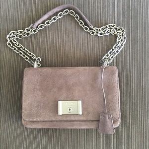 Prada Metal Closure Suede Boy Chain bag