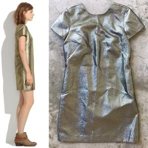 Madewell Shimmer T-Shirt Dress, Like New