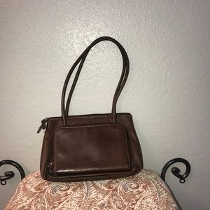 Fossil brown leather purse