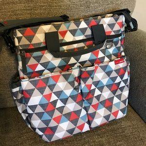 💙🔶 Skip Hop Duo Signature Diaper Bag 💙🔶
