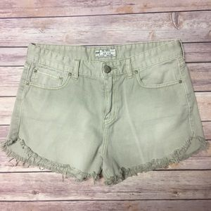 Free People High waisted shorts *NWOT*