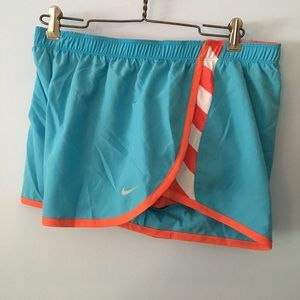 Nike dri fit stripe shorts