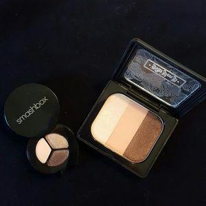KvD and Smashbox eyeshadow palettes