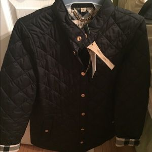 Burberry Pensham quilted jacket. Black XSmall.