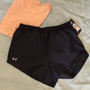 NWT Under Armour HeatGear Running Shorts