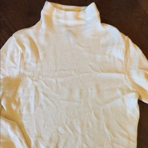 Cream Mock Neck Old Navy Sweater Size Large