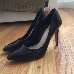 Patent leather stilettos
