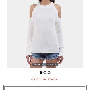 Rag and bone cold shoulder sweater