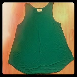 NWOT Old Navy Relaxed High Neck Flowy Tank