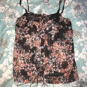 Torrid sz 1 sheer strappy blouse
