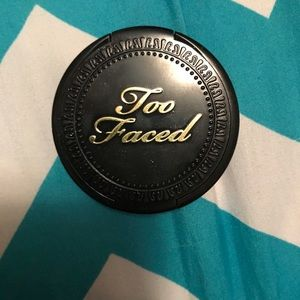 Too Faced Matte Bronzer Like New Used Once