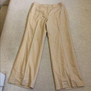 Ann Taylor Wool Herringbone Dress Pants EUC