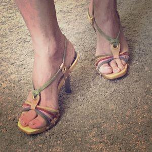 ☀️ 👠 Summer Clearance-BCBG Strappy Heels 👠☀️
