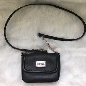 Black Kenneth Cole Reaction cross-body purse