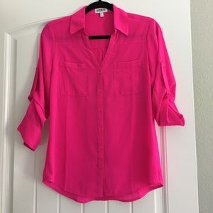 Women's Small Portifino Hot Pink Blouse